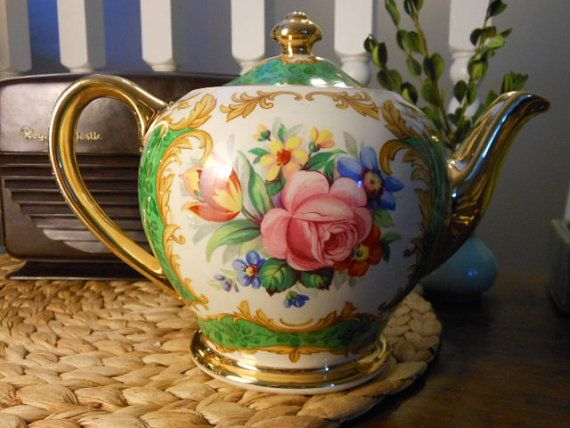 Sadler Antique Bone China Teapot Made in England by ...