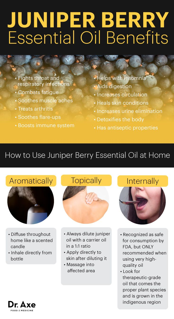 Juniper berry essential oil benefits - Dr. Axe http://www.draxe.com #health #holistic #natural