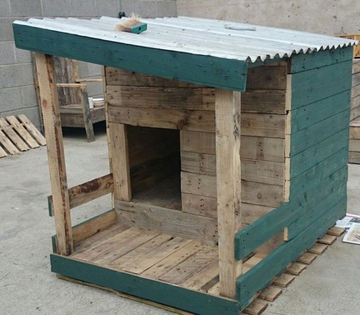 20 Awesome Ideas for Your Pallet House or Shelter - Page 18 of 21