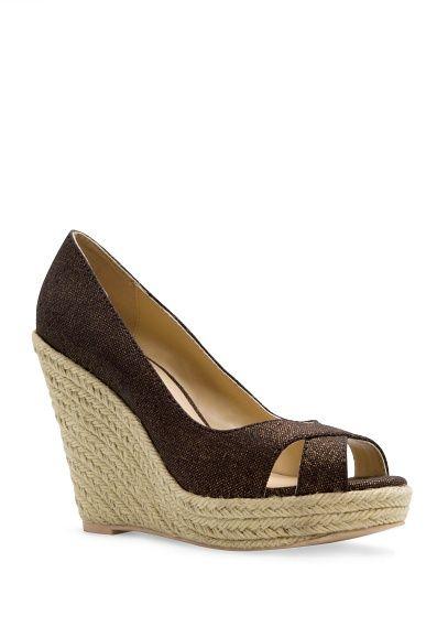 Mango Peeptoe-Schuhe mit Espadrille-Absatz 39,99€