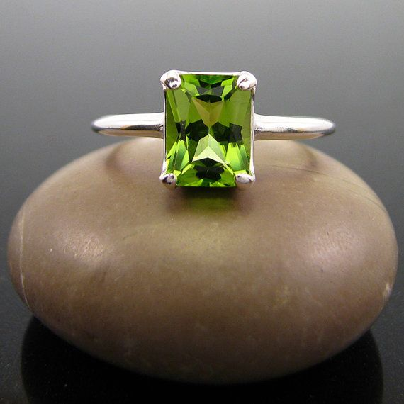 Hey, I found this really awesome Etsy listing at https://www.etsy.com/listing/230324902/peridot-ring-sterling-silver-august