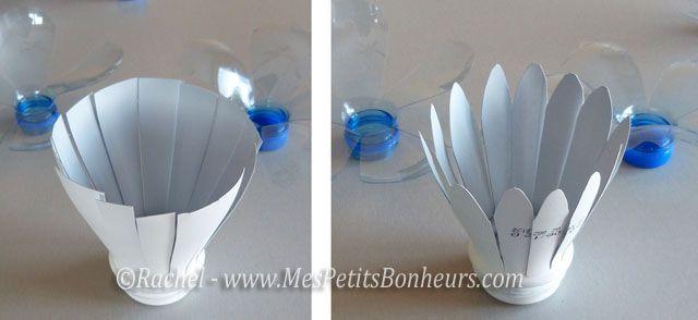 17 best images about plastic crafts on pinterest - Bricolage avec bouteille plastique ...
