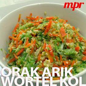 Masakan Praktis Rumahan: Orak Arik Wortel