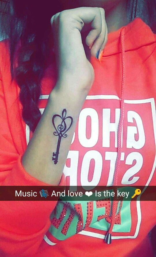 Music and love is the key to everything..  That's what my Tattoo says..