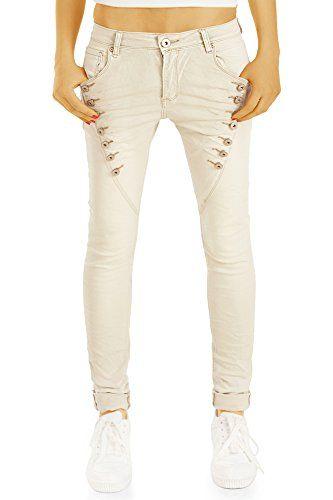 20757b98fac8 BestyledBerlin - Jeans - Baggy Femme - Gris - W36