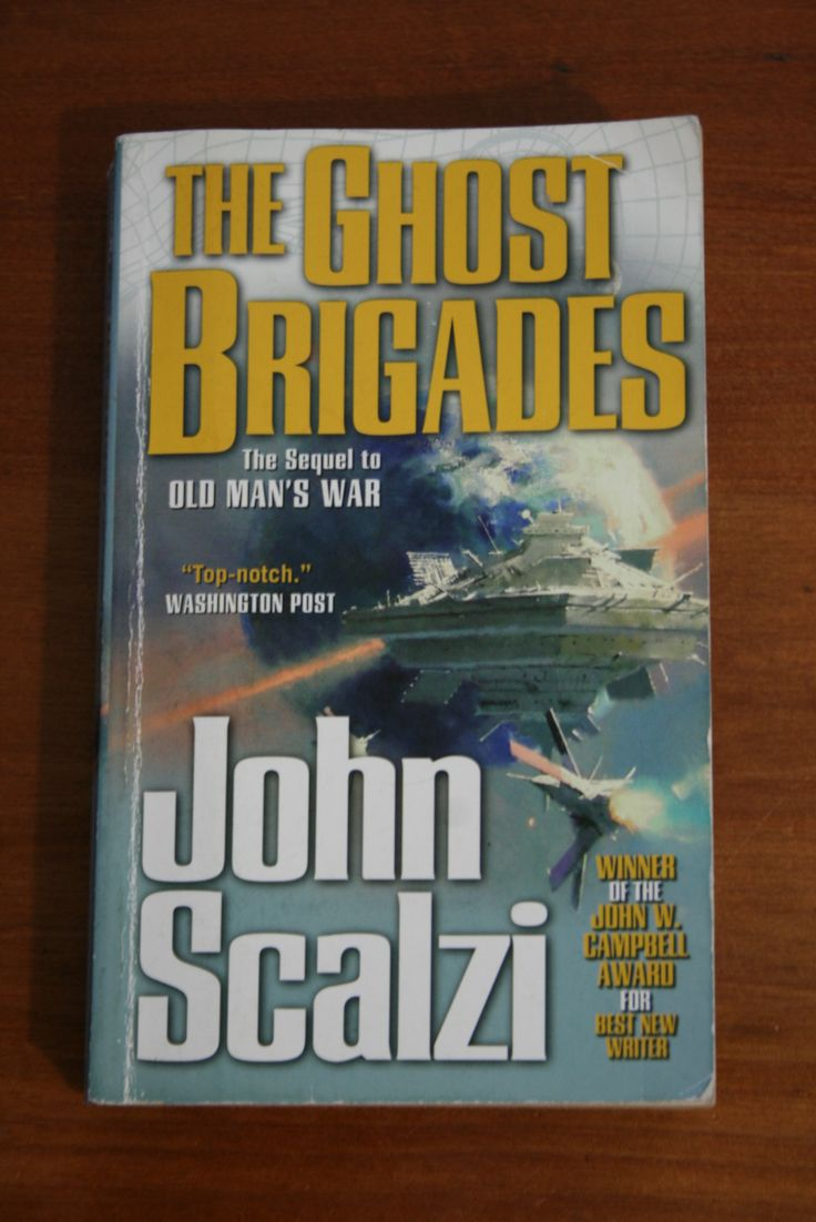 The second book in John Scalzi's series. A good military sci-fi read and ripping yarn.
