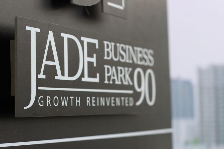 Logo of Jade Business Park.