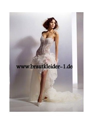 ... Vokuhila Brautkleid auf Pinterest  Vokuhila abendkleid, Vokuhila