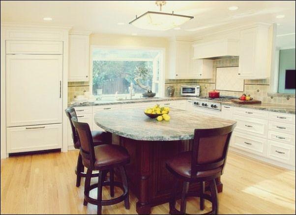 37 Multifunktionale Kücheninseln mit Sitzgelegenheit Küche