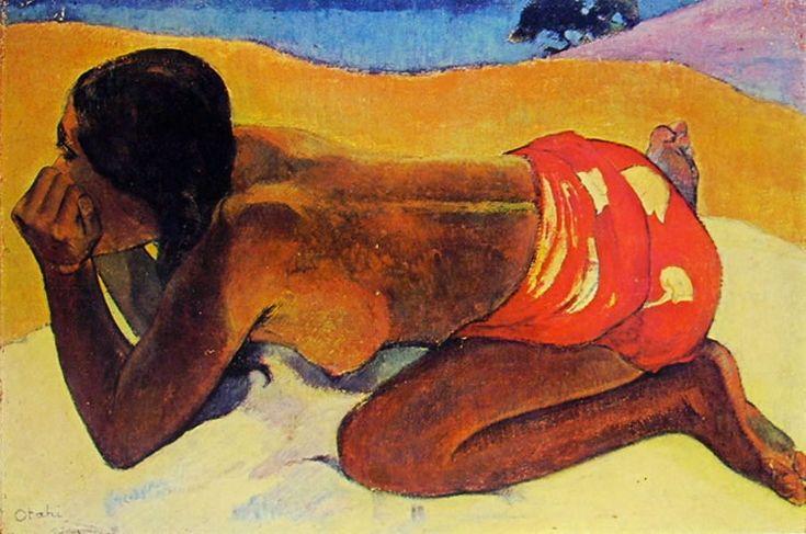 Otahi, olio su tela, collezione privata, Parigi