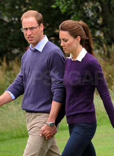 The Duke and Duchess of Cambridge caught holding hands!!!