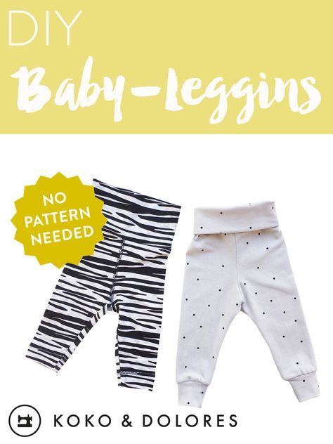 SHORT CUT: Baby-Leggins in 30 Minuten