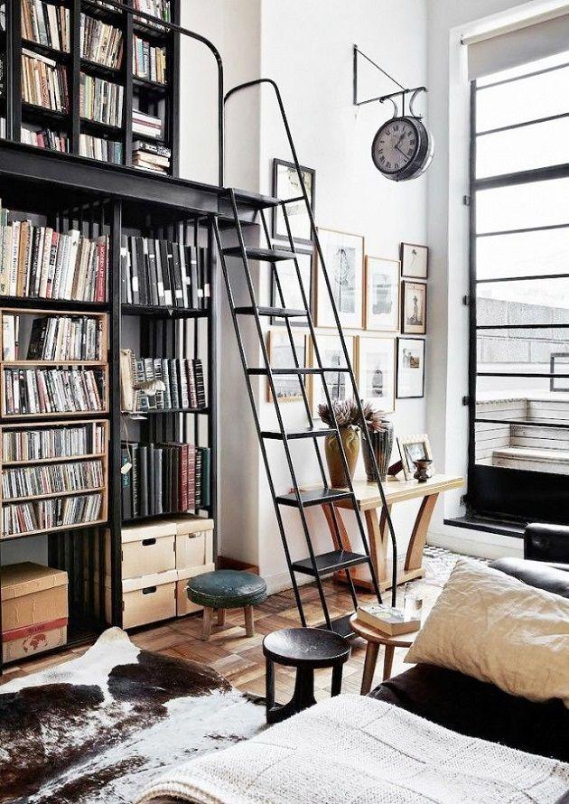 Decor Inspiration: Bookshelves #salon #livingroom #libreria
