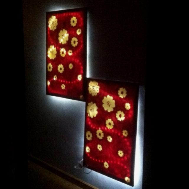 canvas and lights diy crafts pinterest lights and canvases. Black Bedroom Furniture Sets. Home Design Ideas