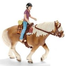 Schleich Horses - Pony Riding & Camping Set