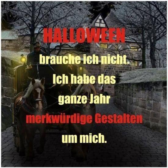 Halloween brauche ich nicht!