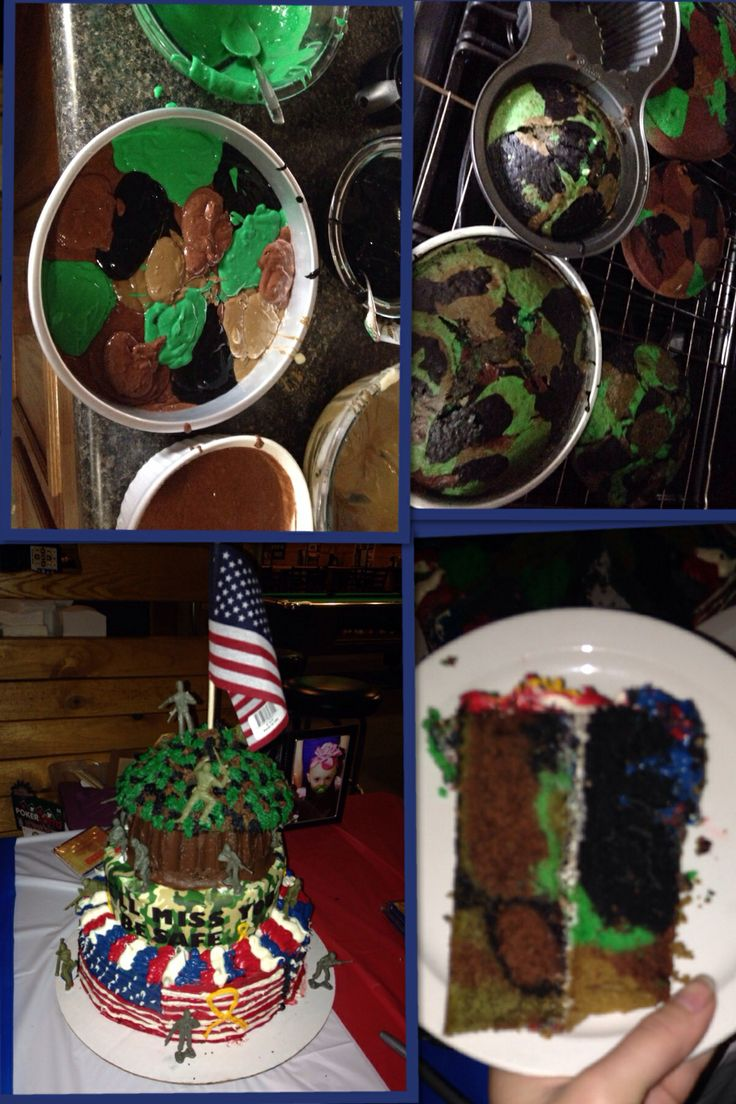 Camouflage Dishes 94 Best Camo Treats Images On Pinterest Military Cake Army Cake