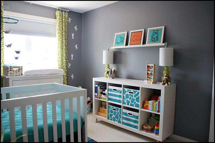 Ikea Chambre Fille 6 Ans : Le gris s'harmonise bien avec toutes les autres couleurs