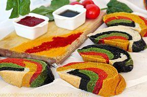 Pane arcobaleno senza coloranti artificiali