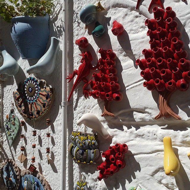 Local pottery Alaçatı Turkey