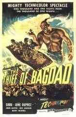 El ladrón de Bagdad       1940