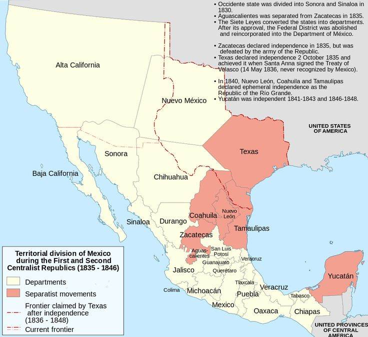 Was The Military Conflict Between The Government Of Mexico And Texas Colonists Most Of Whom Were Land Owners From The United States