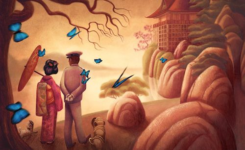 Benjamin Lacombe: Madame Butterfly