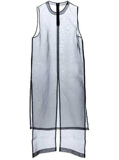 #GIVENCHY - sheer organza dress 6