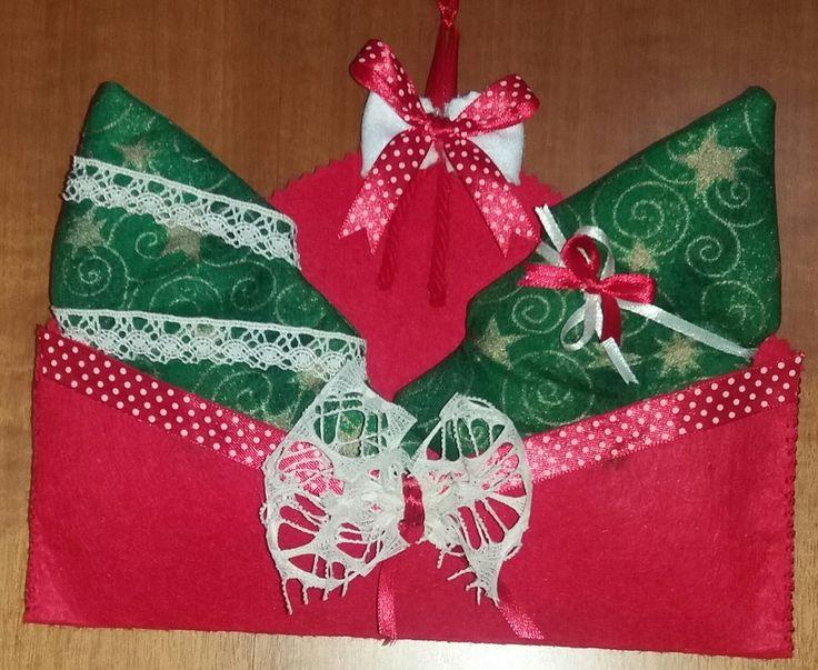 Busta fuori porta natalizia , by francycreations non solo idee regalo, 8,00 € su misshobby.com