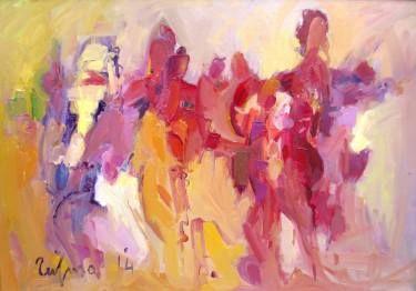 "Saatchi Art Artist Fatmir Tufina; Painting, ""Celebration"" #art"