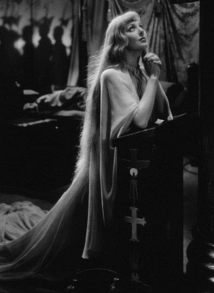 """Loretta Young en """"Las Cruzadas"""" (The Crusades), 1935"""
