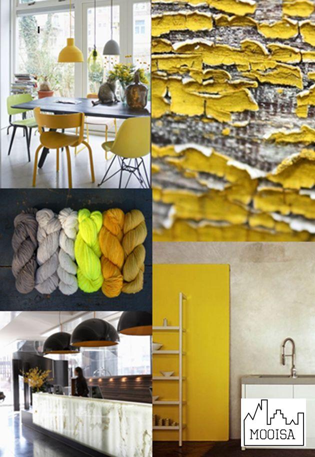 Mooisa - Mosterdgeel - mustard yellow