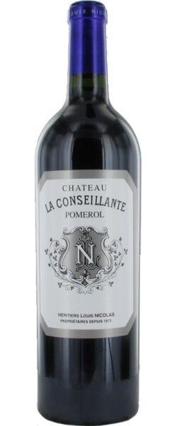 Château La Conseillante 2012  -  Pomerol - 16.5/20 : La Conseillante 2012 est un vin structuré et ferme avec des tannins présents, le vin est concentré et d'une belle pureté  En savoir plus : http://avis-vin.lefigaro.fr/vins-champagne/bordeaux/rive-droite/pomerol/d11325-chateau-la-conseillante/v11326-chateau-la-conseillante/vin-rouge/2012#ixzz3CnzUQ6Qa