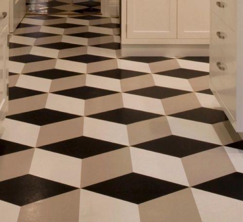 8 best congoleum vinyl images on pinterest vinyl for Cheap black lino flooring