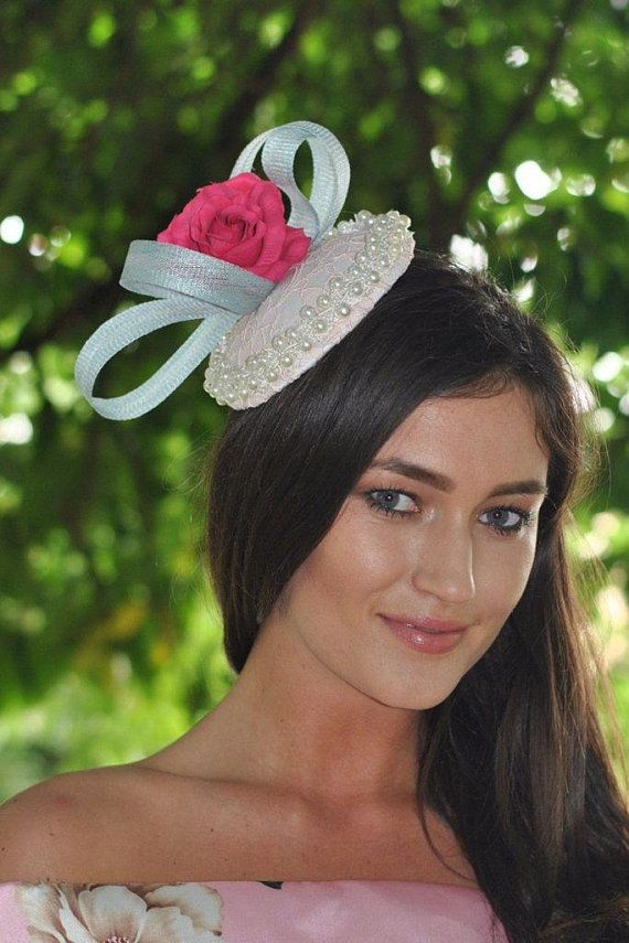 645c1d32eb baby pink and blue wedding fascinator