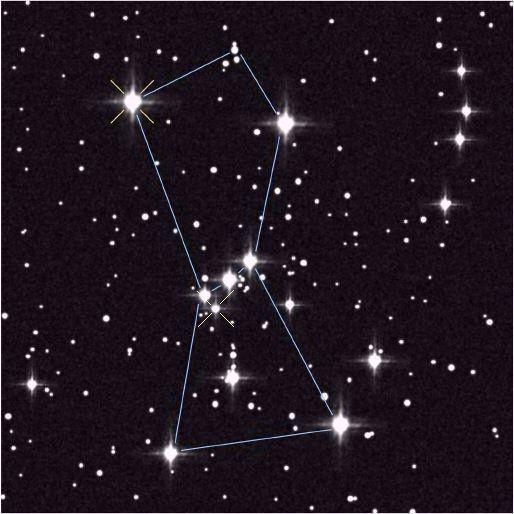 Mitología y Astrología aplicada al Autoconocimiento. El arte de encontrar los mitos activos en uno: El mito de la constelación de Orion