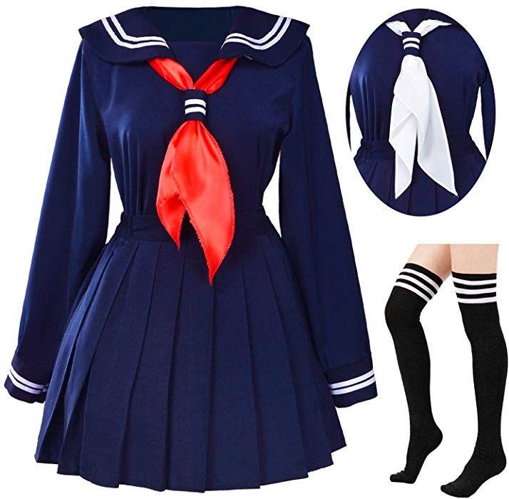 Amazon Com Classic Japanese School Girls Sailor Dress Shirts