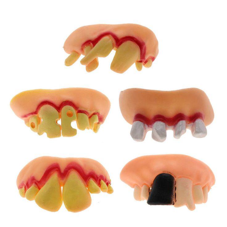 5 стиль новых некрасиво смешной гуфи кляп поддельные накладные зубы протезы для костюма хэллоуин ну вечеринку