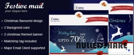 ThemeForest – Festive mai – Email Template