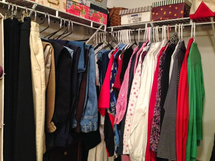 Great Connection Intersection: Another Purge  The 40 Hanger Closet?