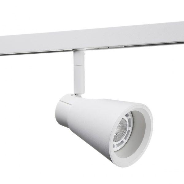 ZIP ZOOM 230V BØRSTET STÅL 6,5W LED