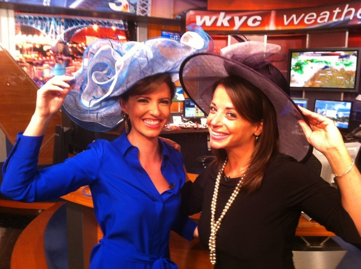 Erin Kennedy and Hollie Strano get in the Kentucky Derby mood!