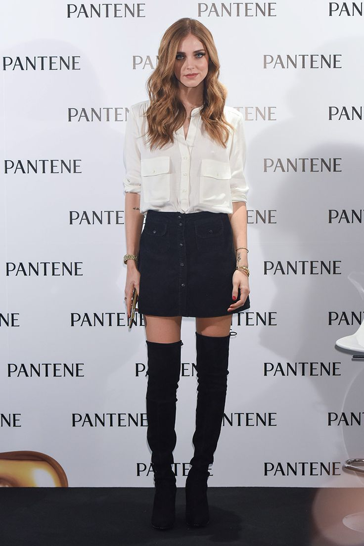 Top looks. Modelos, flores y botas over-the-knee © Cordon Press/ Getty Images