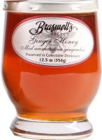 Ginger Honey by Brasswells..love it ! Williams Somona carried it last year now they don't and Home Goods does & @ a fraction of the price ..or you can order directly! They make great products , relishes, mustards, jams etc!