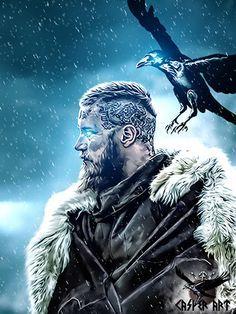 #Vikings series #Ragnar by thecasperart.deviantart.com on @DeviantArt
