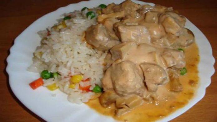 Bravčové mäso s hubami v krémovej syrovej omáčke - jednoduchý a rýchly obed! - Báječná vareška
