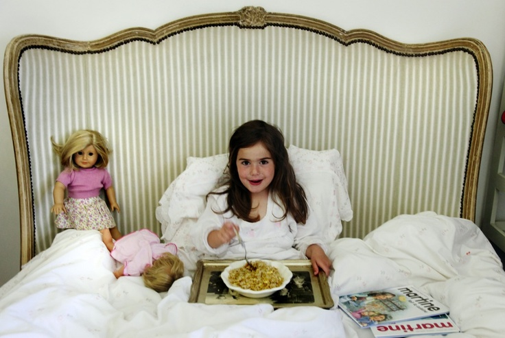 i wish my mum would let me have breakfast in bed.