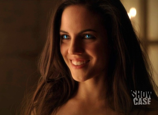 anna silk as bo in lost girl. This is my favorite part in my favorite episode. I want to scream her safe word!!!