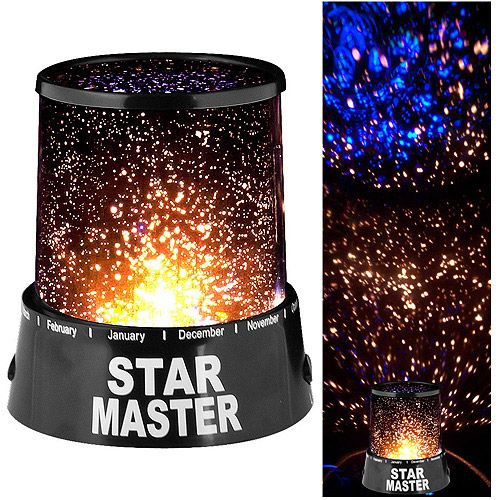 Walmart $9    Star Projector Lamp, Star Wall Projector, Projector Night Light  - cheap and cheerful?