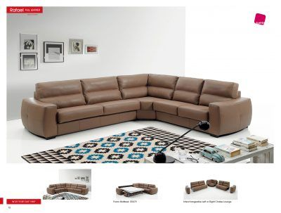 Living Room Furniture Sectionals Rafael Sectional w/Sleeper for sale at http://www.kamkorfurniture.ca